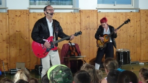 """Rock for Kids"" an der Michael-Ende-Schule"